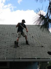 Roof Cleaning By Brush Hampshire Roof Cleaning Roof